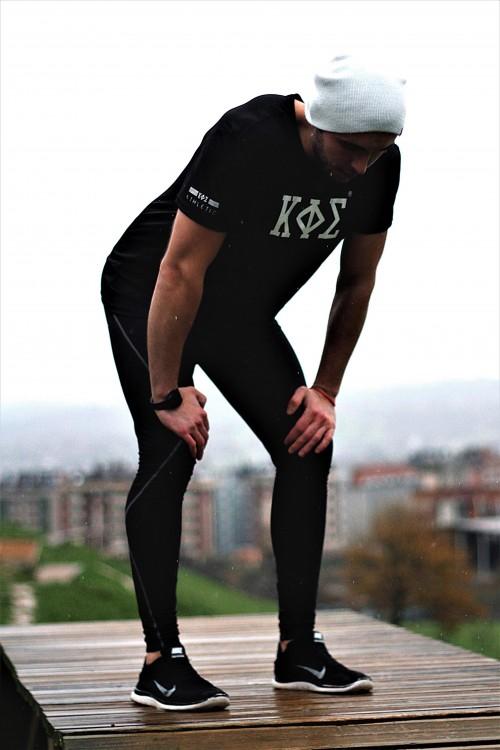 Camiseta Negra - KOE Athletic