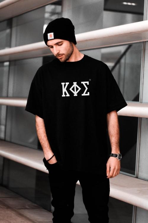 Camiseta Negra Extragrande - KAPHISI