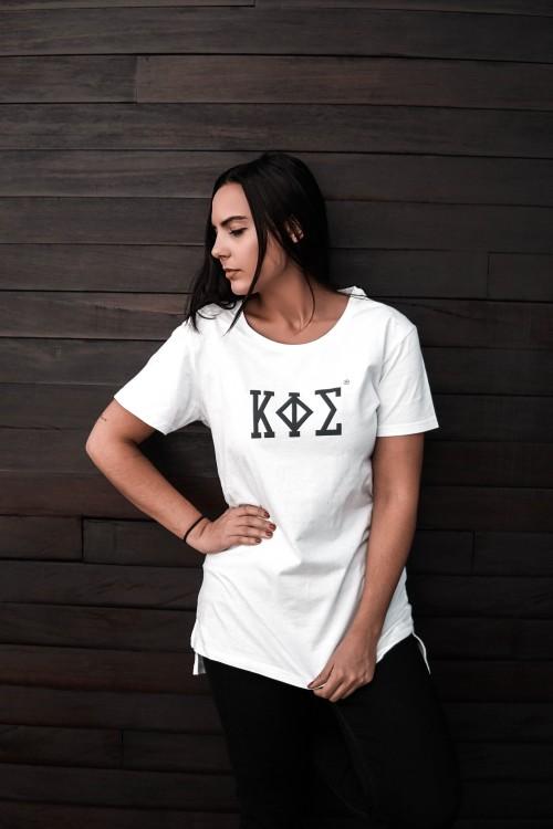 Camiseta Blanca Extralarga - KAPHISI